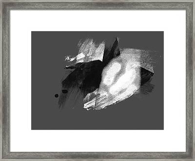 Scream Of The Wild Stallion Framed Print