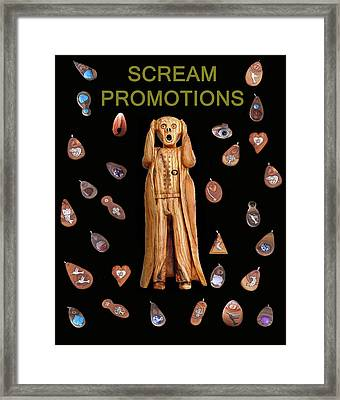 Scream Promotions Framed Print by Eric Kempson