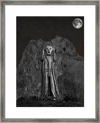 Scream Rock Framed Print by Eric Kempson