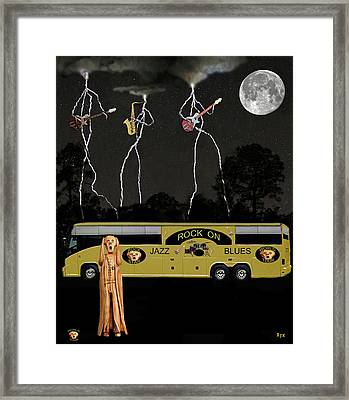 Scream Unplugged World Tour Framed Print by Eric Kempson