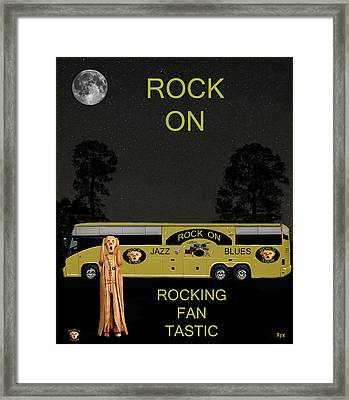 Scream We Will Rock You Framed Print by Eric Kempson