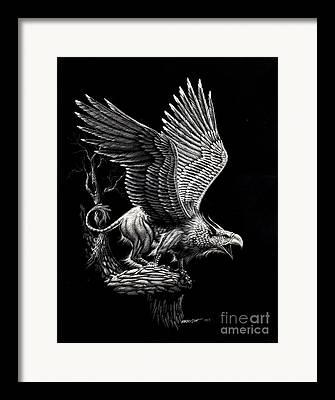Griffon Framed Prints