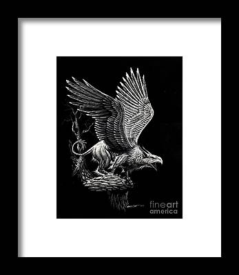 Griffon Framed Prints