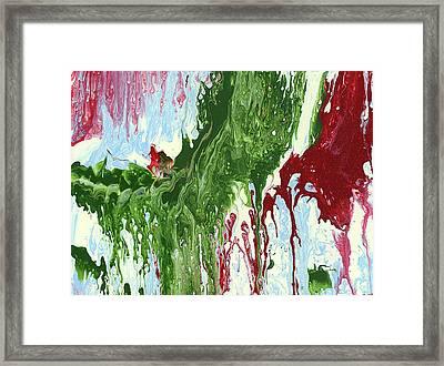 Screaming Framed Print