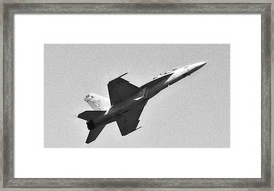Screaming Framed Print