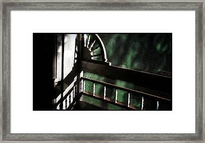 Screen Door Detail  Framed Print by Michael L Kimble