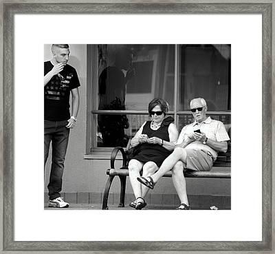 Screen Generation Framed Print