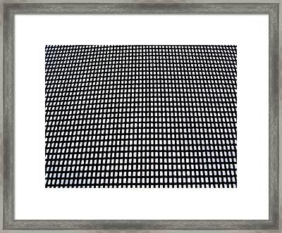 Screen I Framed Print by Anna Villarreal Garbis