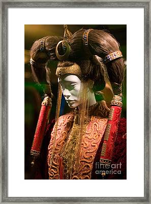Screen Worn Queen Amidala Framed Print by Micah May