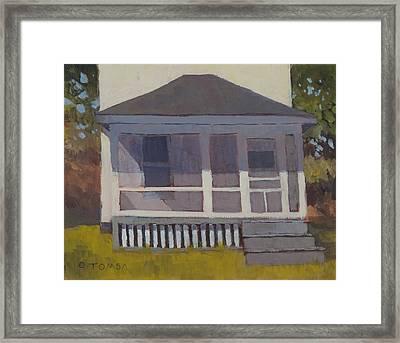 Screened Porch Framed Print
