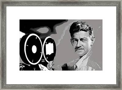 Screenwriter And Director Preston Sturges Circa 1947 Color Added 2016 Framed Print