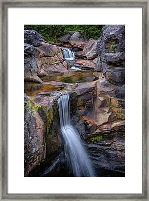 Screw Auger Falls Framed Print