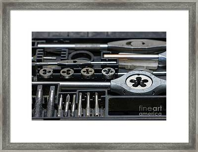 Screw Tap - Hand Tools Framed Print by Michal Boubin