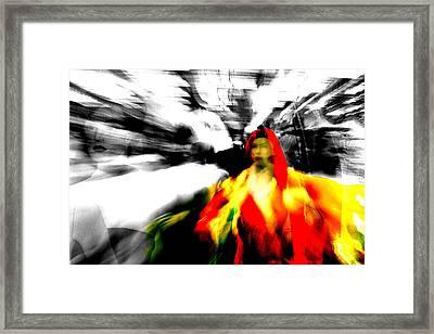Screwge Framed Print by Jez C Self