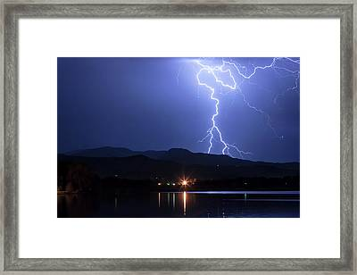 Framed Print featuring the photograph Scribble In The Night by James BO Insogna