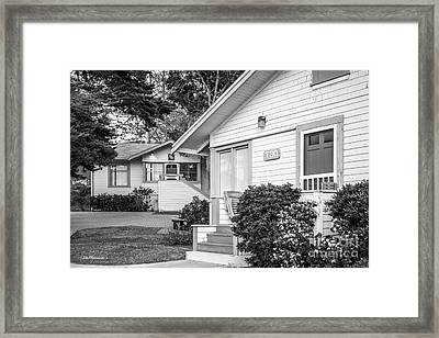 Scripps Institution Of Oceanography Cottages Framed Print by University Icons