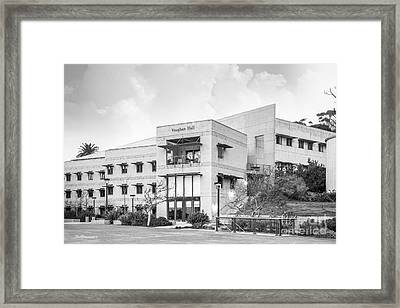 Scripps Institution Of Oceanography Vaughan Hall Framed Print by University Icons