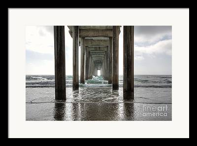 Columns Digital Art Framed Prints