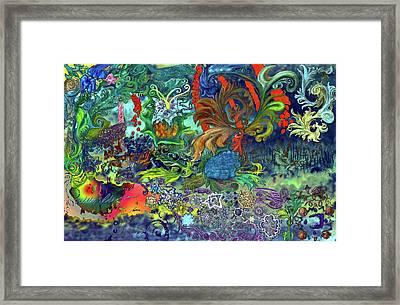 Scrollific 1 Undersea Framed Print