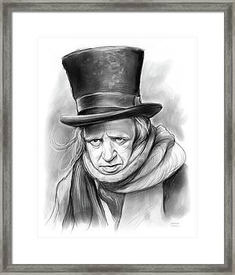 Scrooge Framed Print