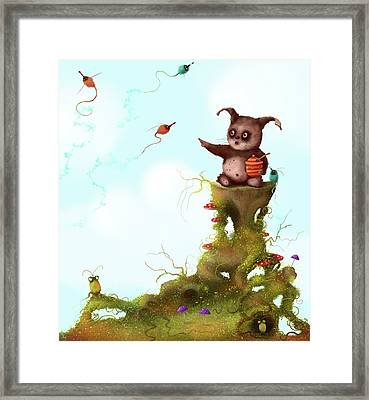 Scrumpy And The Phizz Poppers  Framed Print