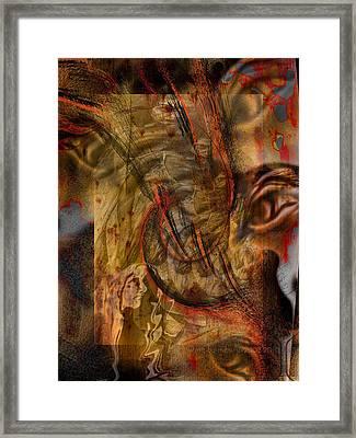 Scrutinized Framed Print by Mimulux patricia no No
