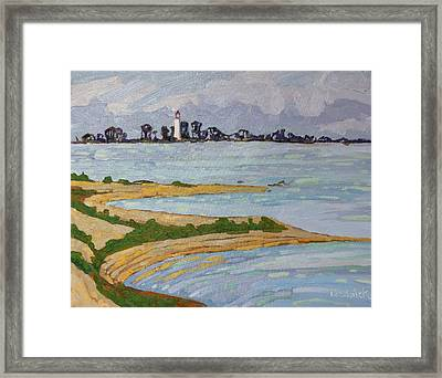 Scubbys View Framed Print