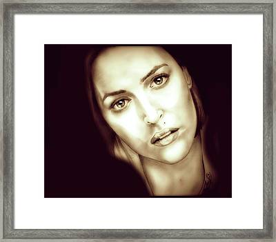Scully Framed Print by Fred Larucci