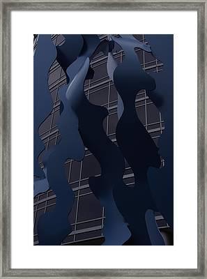 Sculptural Integrity Framed Print by Xn Tyler