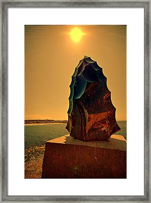 Sculpture By The Sea 2015 04 Framed Print by Andrei SKY