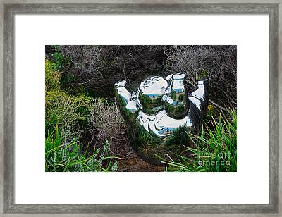 Sculpture By The Sea - City Dreams By Kaye Menner Framed Print