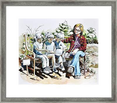 Lasting Pupils Framed Print