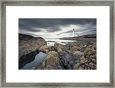 Scurdie Ness 1 Framed Print by Dave Bowman