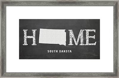 Sd Home Framed Print by Nancy Ingersoll