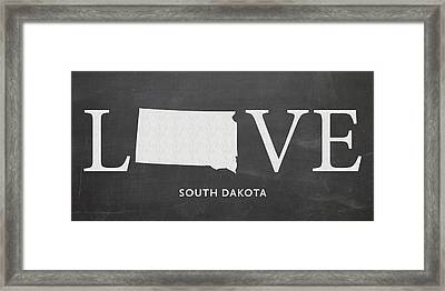 Sd Love Framed Print