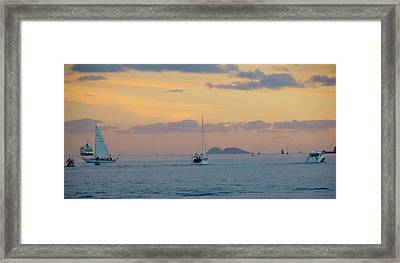 Sd Sumset 1 Framed Print