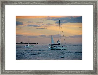 Sd Sunset 3 Framed Print