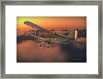 S.e. 5a On A Sunrise Morning Framed Print by David Collins