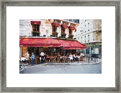 Le Saint Germain Framed Print