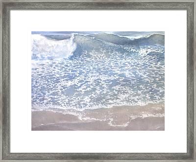 Sea 2 Framed Print