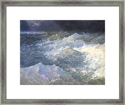 Sea 3 Framed Print