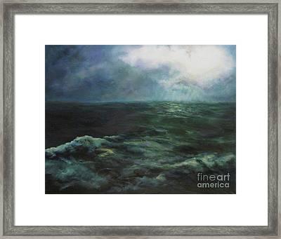 Sea And Sky Framed Print