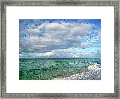 Sea And Sky - Florida Framed Print