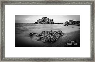 Sea And Stones Framed Print