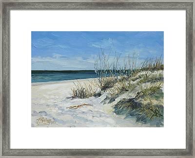 Sea Beach 1 - Baltic Framed Print