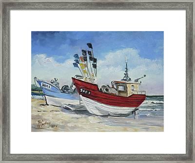 Sea Beach 10 - Baltic Framed Print