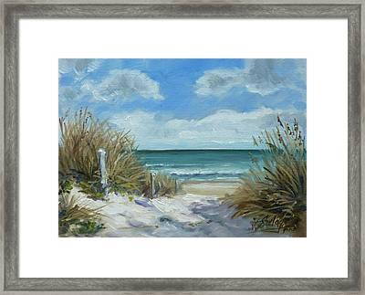 Sea Beach 11 - Baltic Framed Print