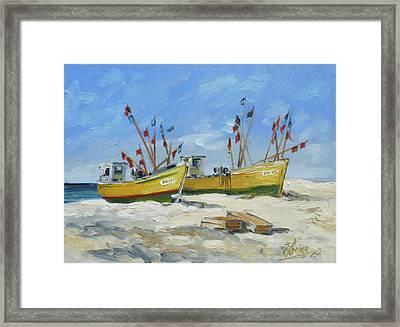 Sea Beach 2 - Baltic Framed Print