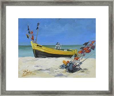 Sea Beach 4 - Baltic Framed Print