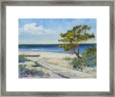 Sea Beach 6 - Baltic Framed Print